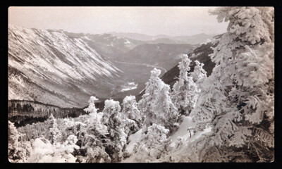 Mount Webster from Mount Avalon, NH, February 22, 1909