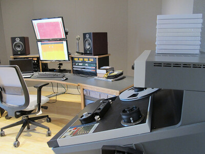 NEDCC Audio Preservation Control Room 1