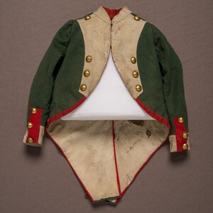 Major Tom Thumb's Napoleon costume.