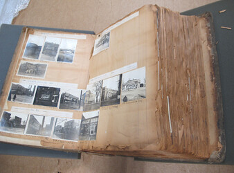 The photograph album has been a highly requested resource at the Coca-Cola Archives – and its deteriorating condition has made it extremely fragile to handle.