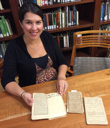 SC HISTORICAL SOCIETY PROJECT: Virginia Ellison, Archivist, SCHS with Sandy Island Plantation Journals / Almanacs