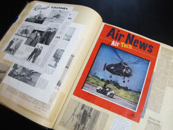 One of the Sikorsky scrapbooks