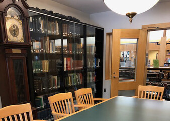 Some of the Local History Collections at the Abington Public Library