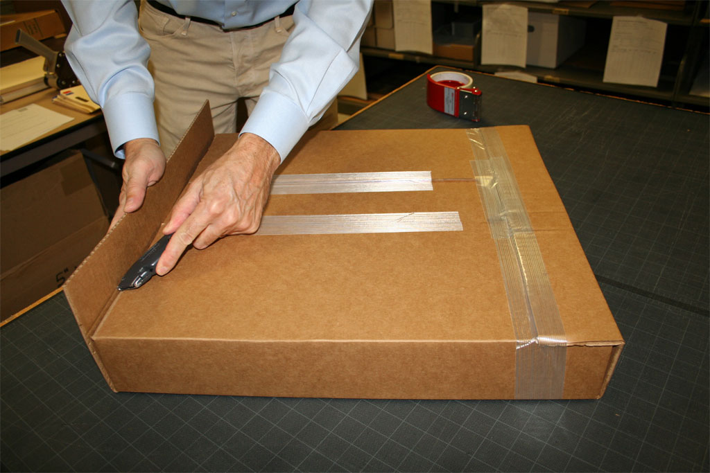 Packing And Shipping Paper Artifacts Nedcc