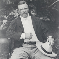 Theodore Roosevelt at Sagamore Hill