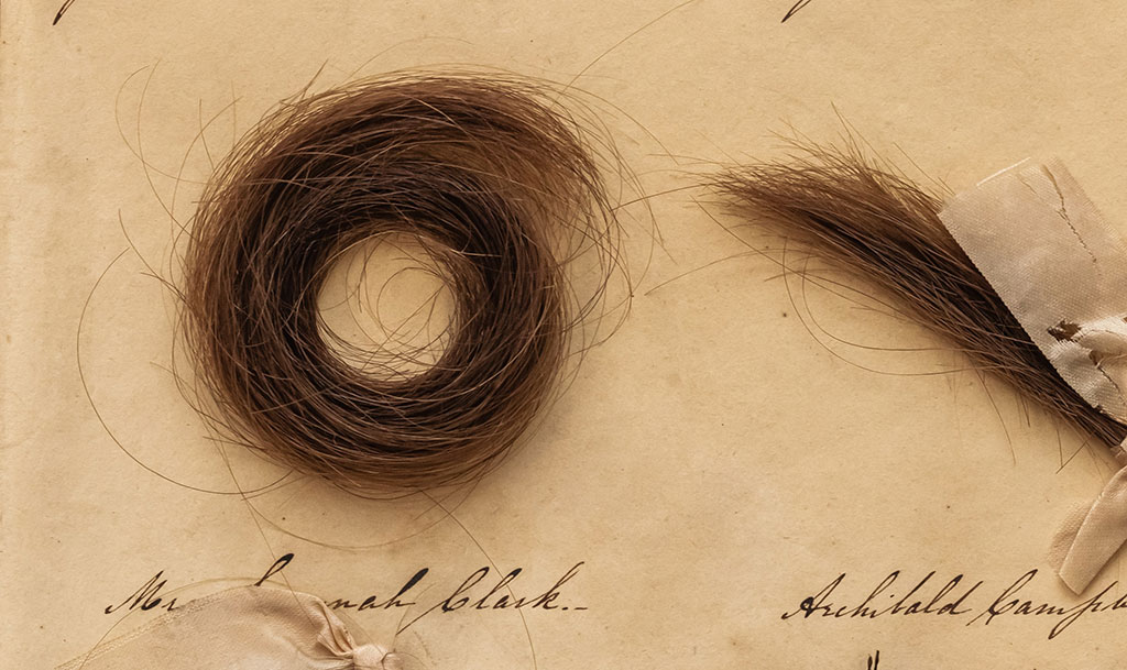 Both hair and woven textiles contain thread-like materials, so it was possible to adapt textile conservation techniques to stabilize the hair.