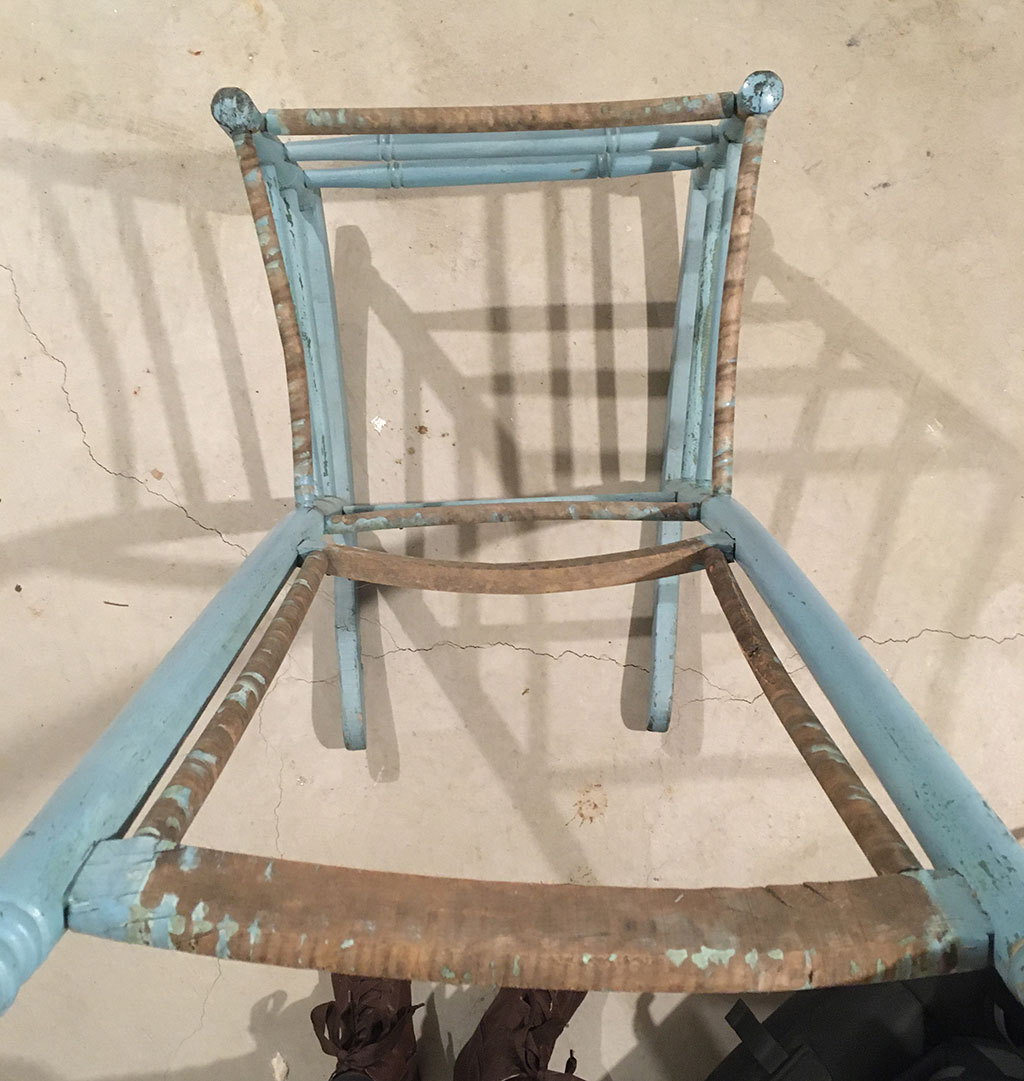 Wobbly rocking chair