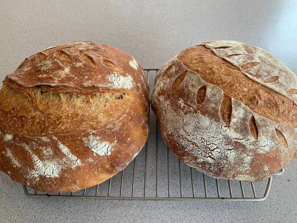 Jess' Sourdough - [Editor's note: I WANT that bread!!]