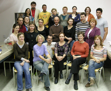 Photo of Participants at the 2007 International Photograph Conservation Workshop in Bratislava