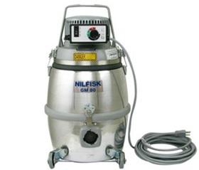 HEPA vacuum with variable speed settings